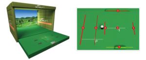 アスゴル(ASGL)阿波座スポーツゴルフ倶楽部のゴルフシュミレーション X-GOLF PRO / iR / i2