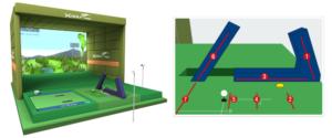 アスゴル(ASGL)阿波座スポーツゴルフ倶楽部のゴルフシュミレーション X-GOLF PRO