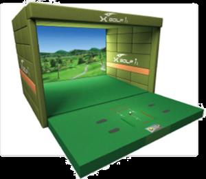 アスゴル(ASGL)阿波座スポーツゴルフ倶楽部のゴルフシュミレーション X-GOLF iR製品