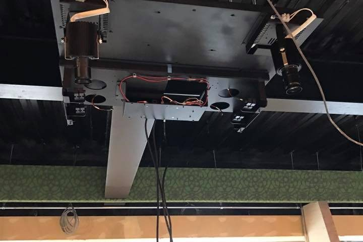 ASGL 阿波座スポーツゴルフ倶楽部 プロジェクター設置