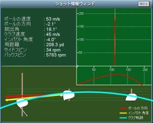 ASGLに導入 ゴルフシュミレーション