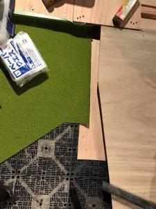 ASGLグリーンの設置 阿波座スポーツゴルフ倶楽部