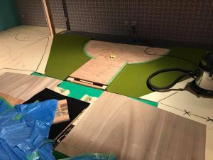 阿波座スポーツゴルフ倶楽部のインドア集球システム工事完了