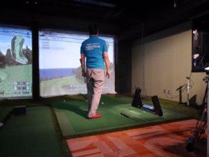 第一回阿波座スポーツゴルフ倶楽部シミュレーションゴルフコンペ