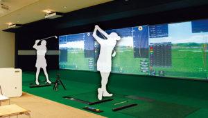 最新シミュレーションゴルフレッスン体験実施中